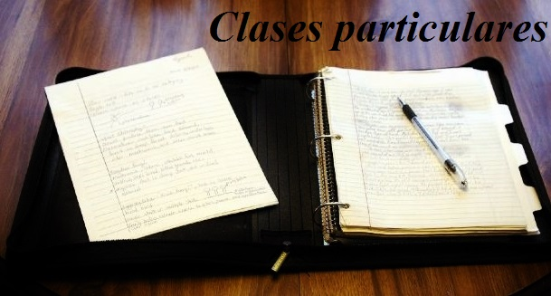 organizar clases particulares
