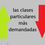 Clases particulares más demandadas en España