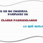 Pasos para redactar panfleto clases particulares original