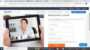 Aplicación Zoom para dar clases online con Infoclases